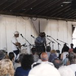C-Rapping at the 2001 Sea Music Fest.