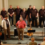 The Cliff Concert - 28 April 2012 at the Centerbrook Meeting House.  Cliff Haslam/The Jovial Crew, and the Ancient Mariners Chanteymen.