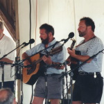 Jim Bennett, Cliff Haslam, Paul Elliott - 2001 Sea Music Fest, Mystic, CT.