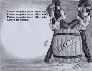 http://lordcavendish.deviantart.com/art/Drunken-Sailor-III-42750980