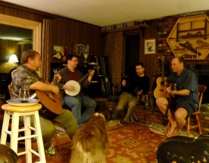 Danny Quinn, Joseph Morneault, Dan Pardo, and Rodney Brown - May 2013