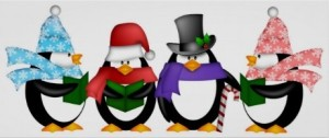 Penguin Carolers